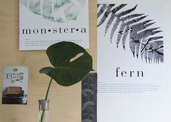 Crisp Sheets Botanical Prints