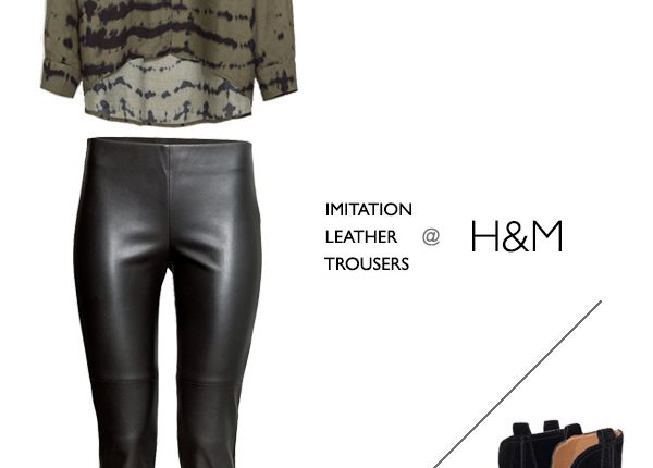 How To Style Leather Trousers For Work