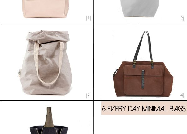 Six Minimal Bags For The Every Day
