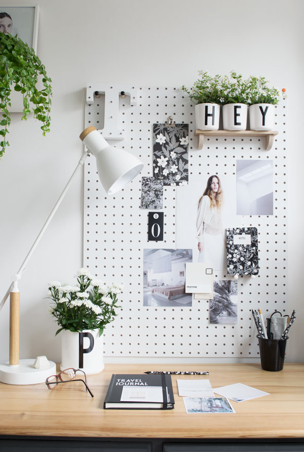 Updating my home office workspace for summer with the Arne Jacobsen Design Letters Collection