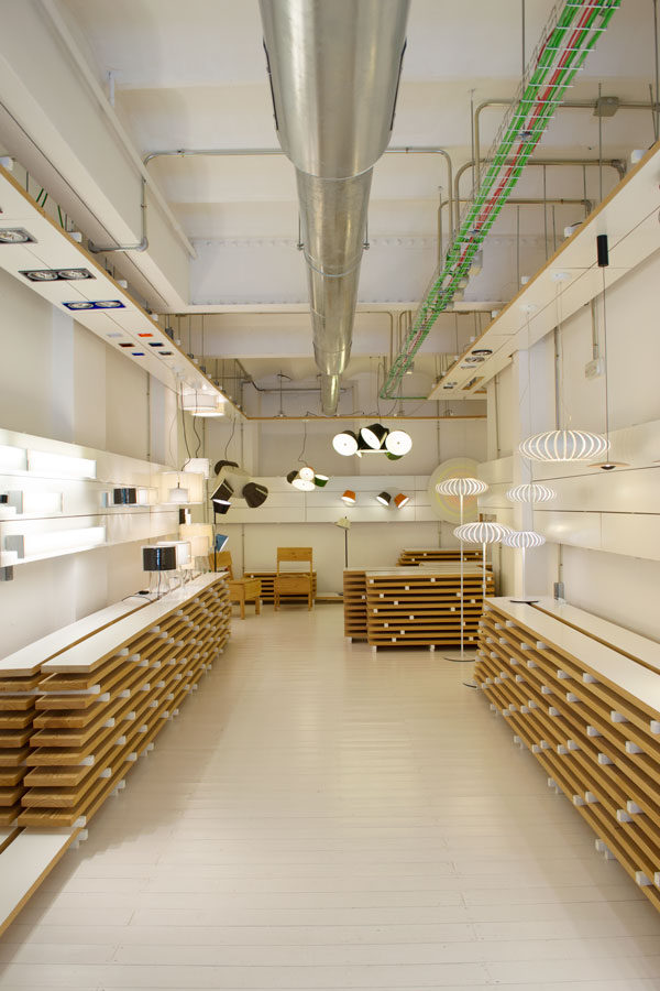 Marset Lighting Studio Showroom Sunny Design Days Tour Barcelona