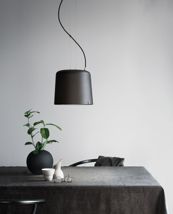 The lights are green for vipp curate display for Minimalist lifestyle uk