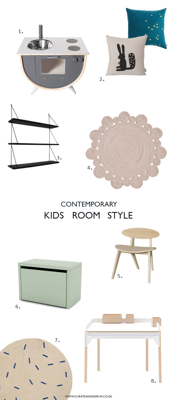 Contemporary kids room inspiration from Nubie, decor and furniture specialists