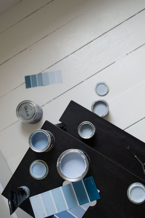 grey-blue Scandi kids room decoration