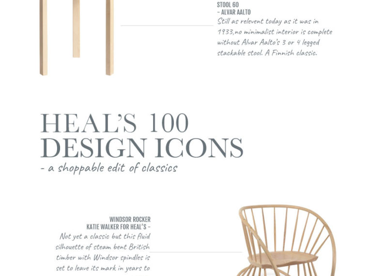 Heal's 100 design icons