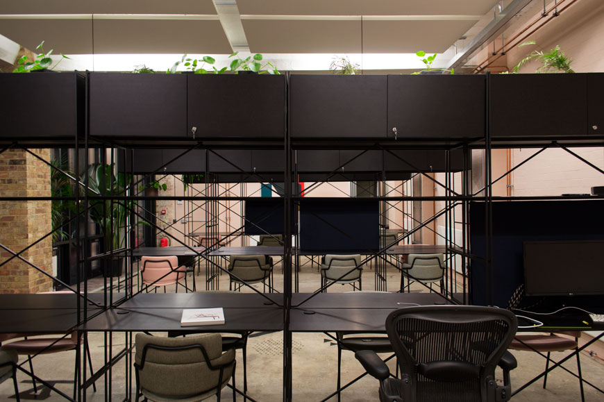 De Beauvoir Block coworking workspace, Dalston, Hackney, Sella Concept interior design