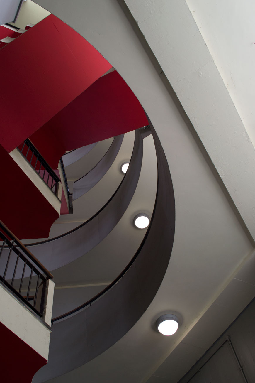 Bevin Court, designed by Berthold Lubetkin, architectural tour of modernist architecture in London