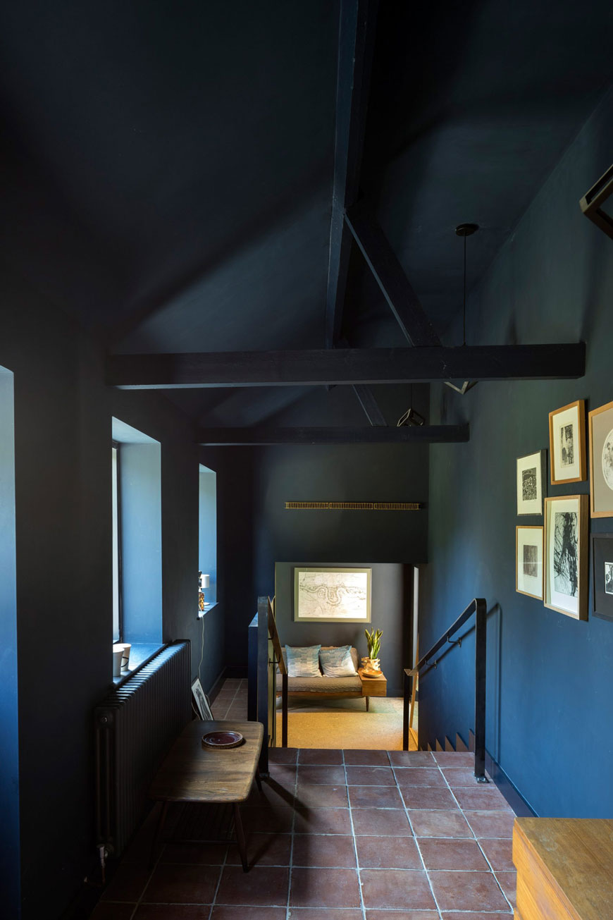 unique architectural holiday home experience, Five Acre Barn, Suffolk, mid-century modern accomodation
