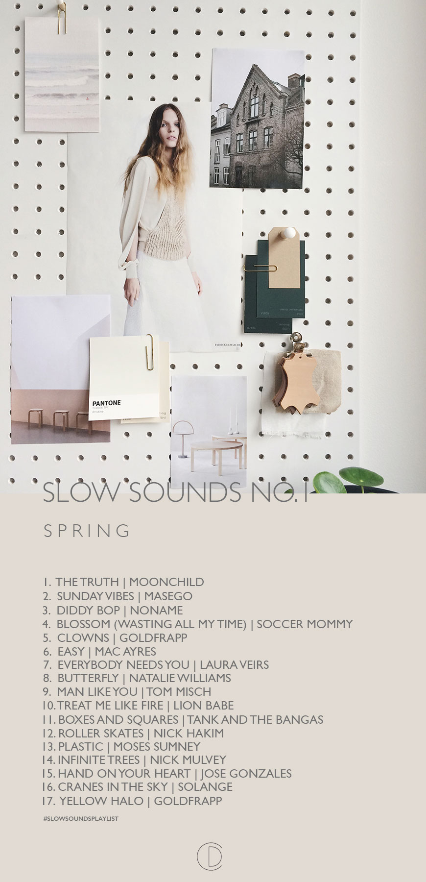 slow sounds playlist, slow living playlist, slow living music, music for spring