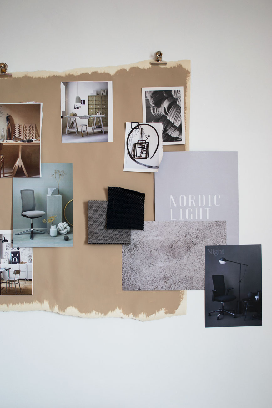 home office design tips with a look at my inspiration moodboard